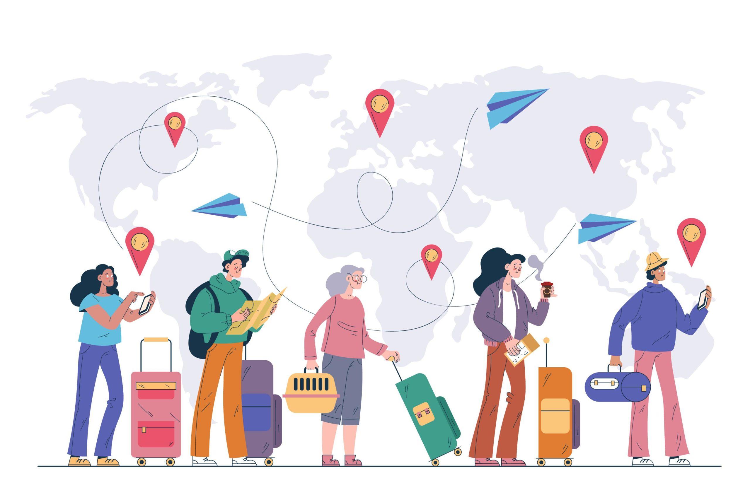 Migraciones, crisis y resiliencia